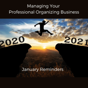 The Nuts and Bolts of Managing a Professional Organizing Business